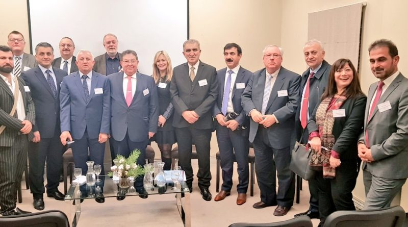 KRG UK Representation to organize an event for the Kurdistan trade delegation